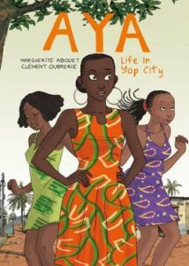Book_cover_of_graphic_novel_Aya_Life_in_Yop_City